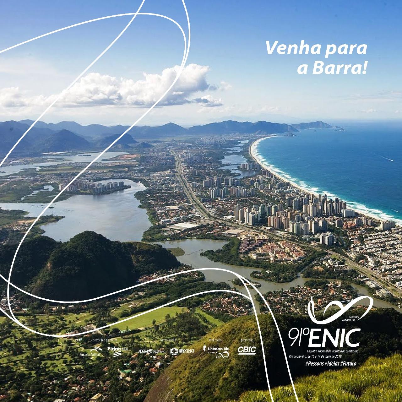 Barra da Tijuca será palco do maior Encontro Nacional da