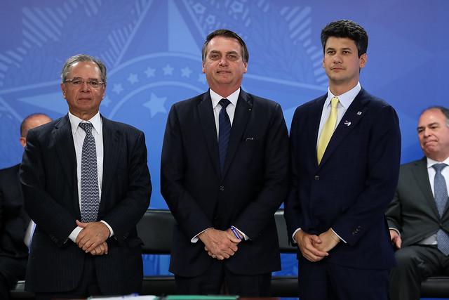 Cerimônia de Posse do Presidente do BNDES, Gustavo Henrique Moreira Montezano